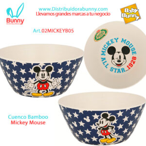 cuenco bamboo mickey mouse bel gioco stor