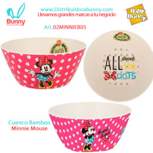Cuenco Bamboo Minnie Mouse bel gioco stor
