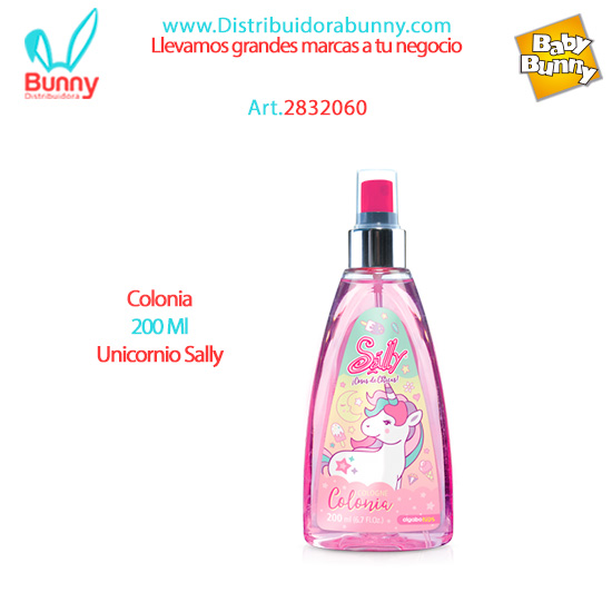 Colonia 200 Ml Unicornio Sally algabo