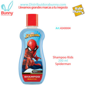 spiderman shampoo kids algabo
