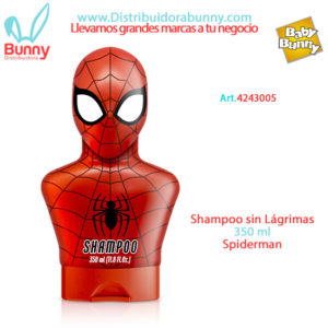 shampoo spiderman infantil algabo